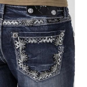 Miss Me Daisy Chain Skinnies